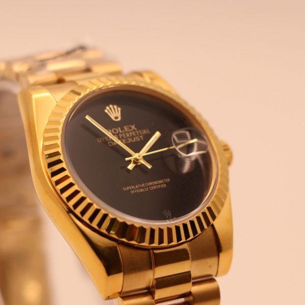 ساعت رولکس دیت جاست طلایی